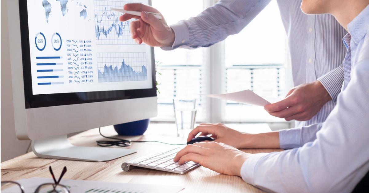 KPI-er på skjerm